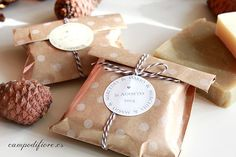 25 Wedding favors Wedding soaps Natural soaps in ecologic