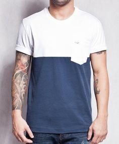 R$118,00 - Camiseta Duas Cores