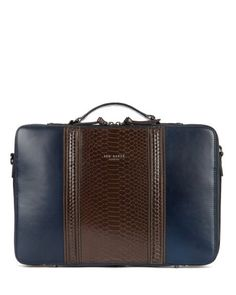 CARAZZO | Exotic laptop case - Navy | Bags | Ted Baker