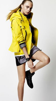 Clean, commercial sportswear inspiration Cara Delevingne for Burberry   Inspiration for Photography Midwest   photographymidwest.com   #pmw #photographymidwest #Cara