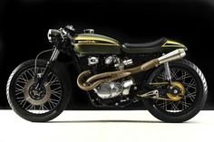 1973 Honda CB450 Cafe by Hangar Cycleworks