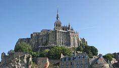 Mont Saint Michel, Ranska, Saari, Linna