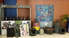 Shebeen theme - November 2014 Theme Ideas, Party Themes, Party Ideas, African Style, Reuse, Special Events, Recycling, November, 21st