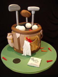 Golf bag cake | by cake by kim