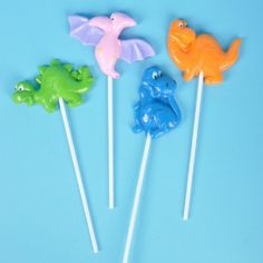 Dinosaur Lollipops make a fantastic treat!