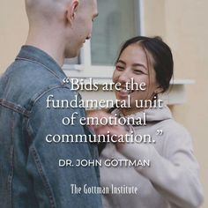 """""""Maybe it's not the depth of intimacy in conversations that matters. Maybe it doesn't even matter whether couples agree or disagree. Maybe the important thing is how these people pay attention to each other, no matter what they're talking about or doing."""" - Dr. John Gottman Successful couples are attentive. Start turrning towards your partner's bids for connection with Gottman Relationship Coach: Feeling Seen and Heard. Get started today. Gottman Institute, John Gottman, Relationship Coach, Pay Attention, True Love, Love Story, Communication, Success, The Unit"""