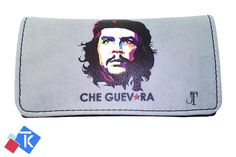 Che Guevara Printing Tobacco Case Rolling Cigar Pouch Wallet PU Leather Cigar