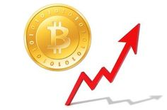 Bitcoin grafiek Crypto Currencies, Symbols, Letters, Letter, Lettering, Glyphs, Calligraphy, Icons