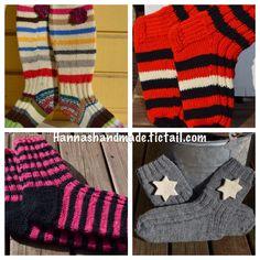 #handmade #wool #socks #stipes #star #knitting #crafts #villasukka #käsintehty #villasukat #kutominen #neulominen #käsityö