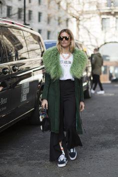 London Fashion Week Fall 2017 Street Style Day 1 - The Impression