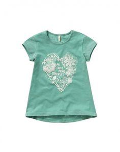 Acquista T-shirt stampata Verde Chiaro da TOPS sullo shop ufficiale di United Colors of Benetton.