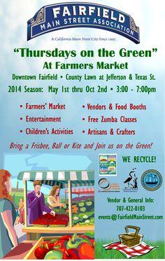 Fairfield Farmers Market & Thursdays on the Green