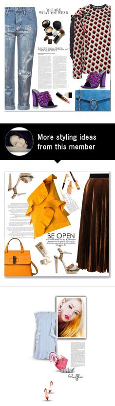 """""""04.07.2016"""" by bliznec-anna on Polyvore featuring Topshop, Gucci, Elizabeth Arden, Chanel, victoriabeckham, gucci, polyvoreeditorial and polyvorefashion"""