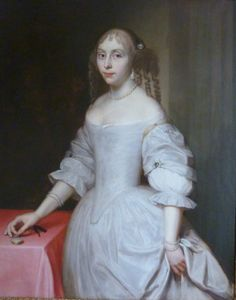 ca. 1660 Lady, Possibly Elizabeth Trentham, Viscountess Cullen by circle or studio of Sir Peter Lely
