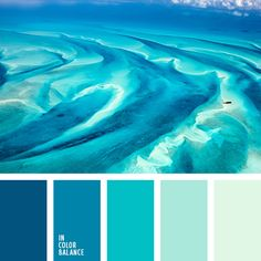 Ideas for bathroom colors palette aqua Blue Color Schemes, Bedroom Color Schemes, Colour Pallete, Bedroom Colors, Color Combos, Ocean Color Palette, Beach Color Palettes, Color Tones, Bedroom Decor