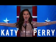 Katy Perry performs Rise and Roar - Democratic National Convention 2016 - FULL HD - YouTube