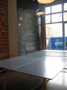 The Book Club Ping Pong Table, Club, London, Cool Stuff, Books, Home Decor, Libros, Decoration Home, Room Decor