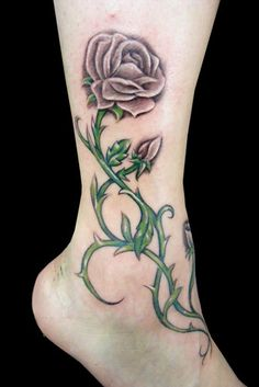 I would really like a rose tattoo on the back of my shoulder - because my middle name is Rose.