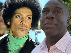 Magic Johnson 'Devastated By Passing Of Good Friend...: Magic Johnson 'Devastated By Passing Of Good Friend Prince' #TMZ #TMZ… #TMZ
