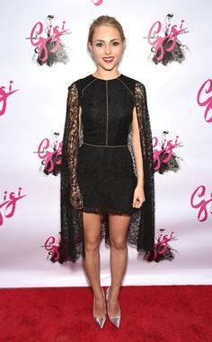 AnnaSophia Robb from The Best of the Red Carpet  Drama, drama! The young starlet master vampy sophistication in a flawless Sophia Kah dress with caped shoulders.