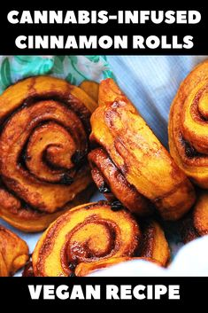 Weed-Infused Vegan Cinnamon Rolls You've stumbled upon the best cannabis cinnamon roll recipe ever. Vegan, light, fluffy, and filled with marijuana! Weed Recipes, Marijuana Recipes, Cannabis Edibles, Vegan Recipes, Candy Recipes, Recipies, Cooking With Marijuana, Herring Recipes, Cannelloni Recipes