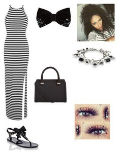 """""""Summer"""" by duniyaxoxo ❤ liked on Polyvore featuring Miss Selfridge, Kate Spade, White House Black Market and Victoria Beckham"""