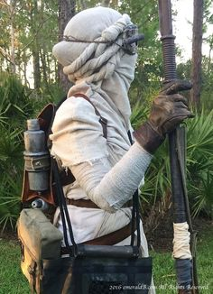 Rey Costume gloves