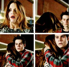 Stiles and Lydia, Teen Wolf, 3x24