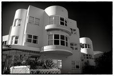 Deco Delight art deco building at Bondi Beach in Sydney NSW Australia pic by Andy Solo