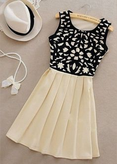 Love the pattern and skirt combo