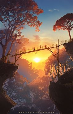 """Step into the forest of liars"" Re New adventure game inspired by American . - Young Lady Fashion - ""Step into the forest of liars"" Re New Adventure Game Inspired by American … – - Fantasy Artwork, Digital Art Fantasy, Fantasy Concept Art, Scenery Wallpaper, Hd Wallpaper, Forest Wallpaper, Chill Wallpaper, Environment Concept Art, Anime Scenery"