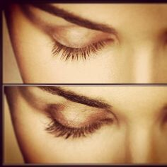 We also sell Latisse! The only FDA approved solution for longer, fuller, and darker lashes naturally! Here's a before and after shot after one treatment.