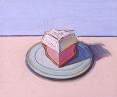 Wayne Thiebaud: A pink piece of cake