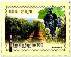 Curiosità: Poste Italiane dedica un Francobollo al Bardolino Superiore #NewsGC @GardaConcierge