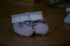 chaussons au crochet pour bébé