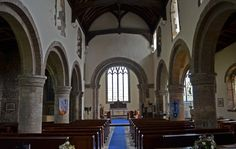 The interior of St. Lawrence's Church, Whitwell, Derbyshire. This is similar to the interior of the church described in The Sphere of Septimus http://simon-rose.com/books/the-sphere-of-septimus/