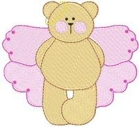 FREE! Fairy Bear Set - 4X4! | FREE | Machine Embroidery Designs | SWAKembroidery.com Bunnycup Embroidery