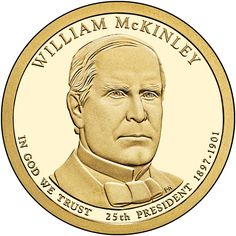 2013 P+D Wm McKinley Presidential Business Strike Set of 8 from US Mint Rolls