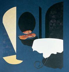 Patrick Caulfield Reserved Table 2000