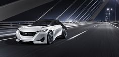 Introducing the stunning Peugeot Fractal concept - the electric urban coupe designed by sound.