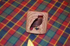 Boy Scout Wood Badge Owl Neckerchief Slide by CrookshankCreations