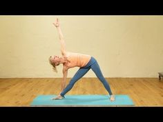 35min Heart Opening Yoga Class  Her voice is soothing and perfect for this invigorating practice.  I think EkhartYoga is my new favorite youtube,