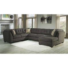 3pc W Raf Chaise Steel N 197rc Condo Living Room