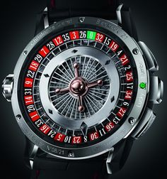 here's the other side of the blackjack watch.. is this not insane? how do they build it.