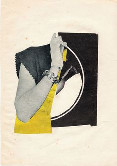 """listen"" Fitacola Collage of the day"