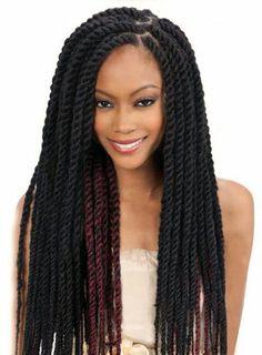 Twist Braids Hairstyles Havana Mambo Twist Crochet Braids Hair 16 Inch Senegalese Synthetic