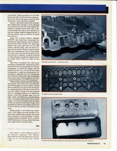 "1964 Mopar 426 DOHC Hemi ""Dooms Day Machine"" Page 4 Hemi Engine, Truck Engine, Classic Auto, Classic Cars, Dodge Muscle Cars, Mopar Or No Car, Combustion Engine, Car Detailing, Car Stuff"