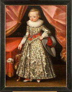 1622 Netherlandish-Frisian School - Portrait of a boy