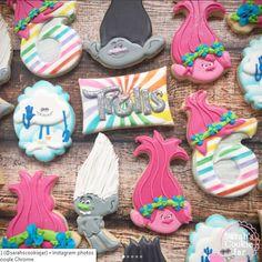 Ideas Birthday Cake For Teens Sugar Trolls Birthday Party, Troll Party, 3rd Birthday Parties, 4th Birthday, Cake Birthday, Los Trolls, Teen Cakes, Girly Cakes, Birthday Cakes For Teens