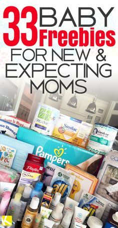 33 Baby Freebies for New & Expecting Moms - The Krazy Coupon Lady